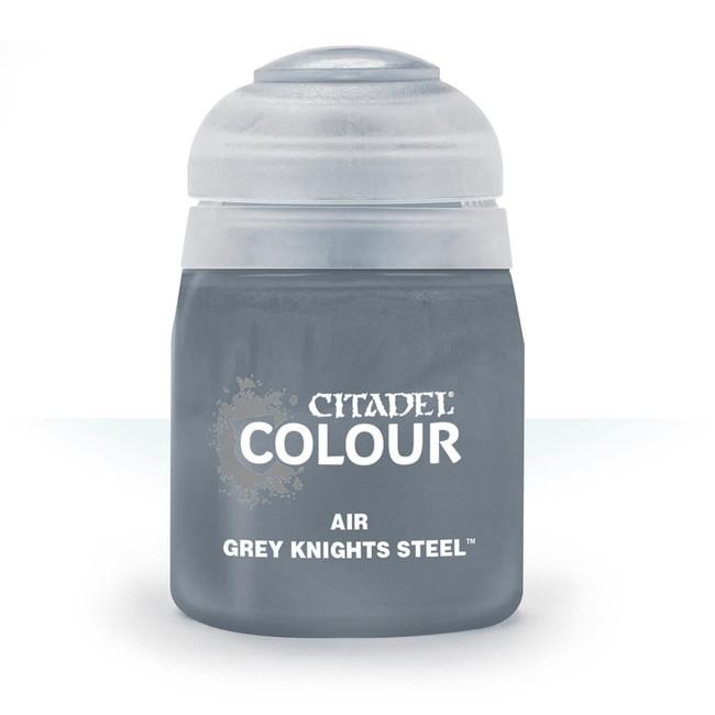 Air Brush Paint: Grey Knights Steel (24ml) , Citadel/Warhammer Hobby