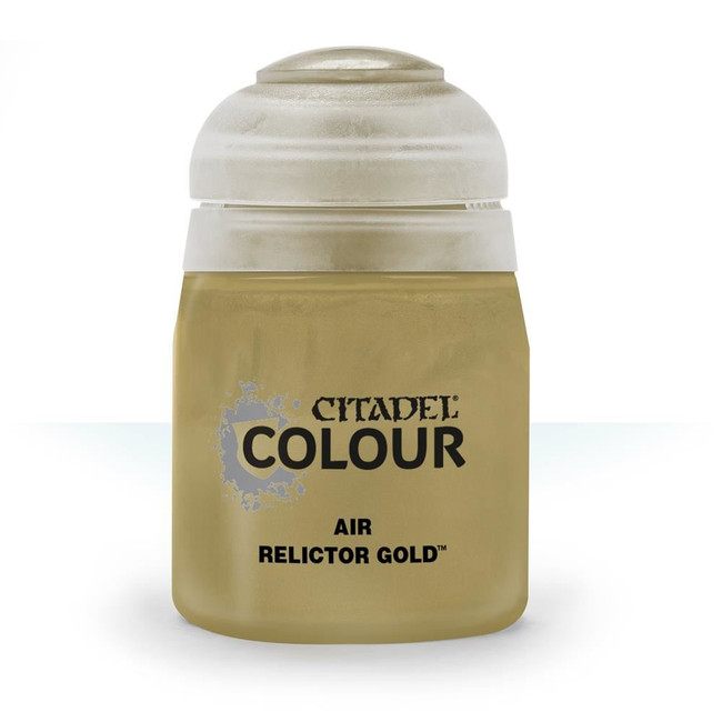 Air Brush Paint: Relictor Gold (24ml) , Citadel/Warhammer Hobby