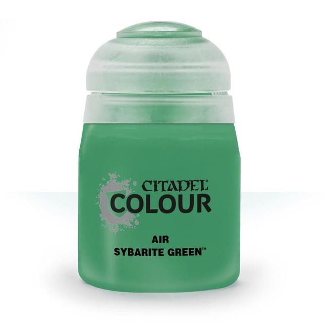 Air Brush Paint: Sybarite Green (24ml) , Citadel/Warhammer Hobby