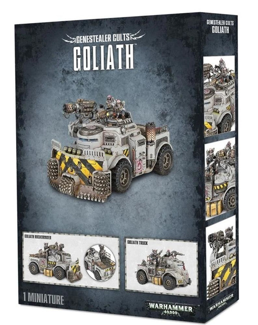 Genestealer Cults Goliath, Warhammer 40,000, 40k, Games Workshop