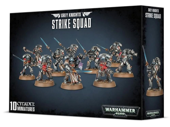 Grey Knights Strike Squad, Warhammer 40,000, 40k, Games Workshop