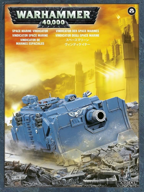 Space Marine Vindicator, Warhammer 40,000, 40k, Games Workshop