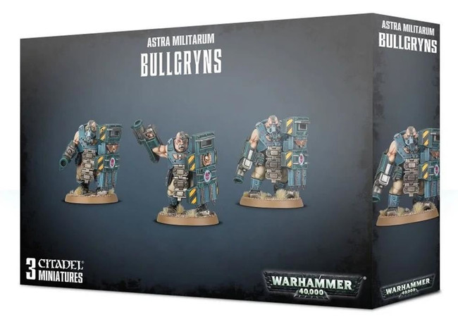 Militarum Auxilla Bullgryns, Warhammer 40,000, 40k, Games Workshop