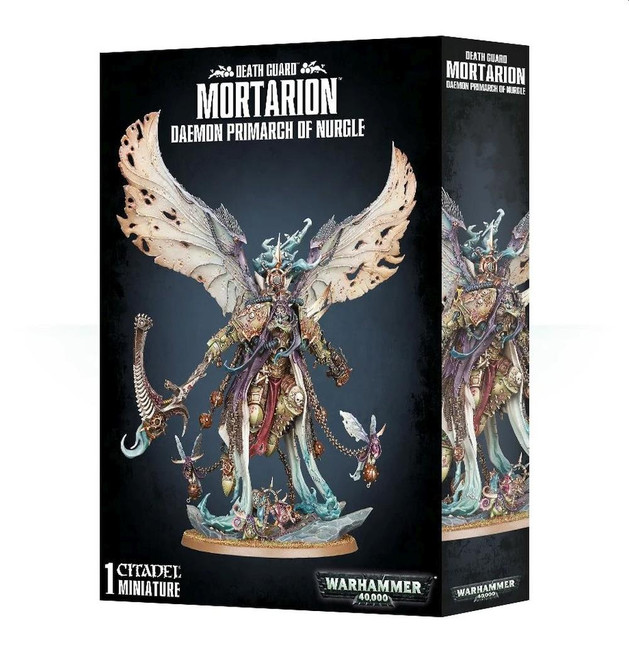 Mortarion: Daemon Primarch Of Nurgle, Warhammer 40,000, 40k, Games Workshop