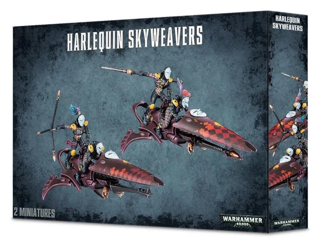Harlequin Skyweavers, Warhammer 40,000, 40k, Games Workshop