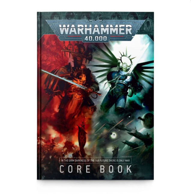 Warhammer 40,000 Core Book, (English), 9th Edition Rulebook, 40k, Games Workshop