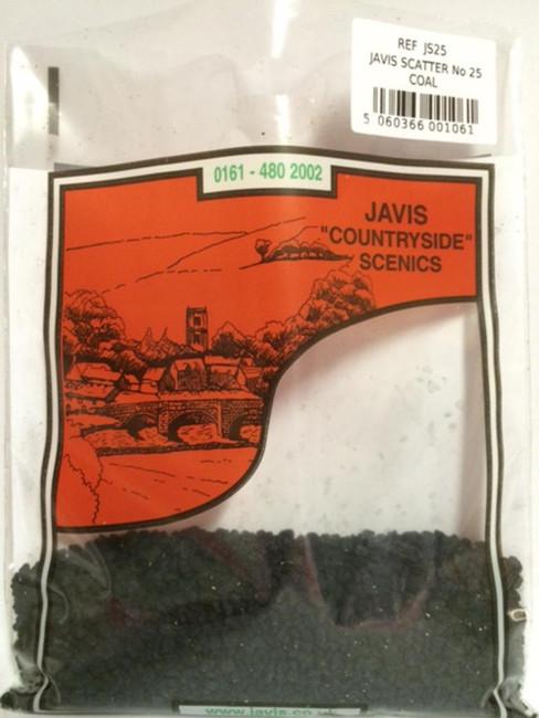 Javis: No.25 Simulated Coal, Wargaming/Model Railway Terrain/Scenery