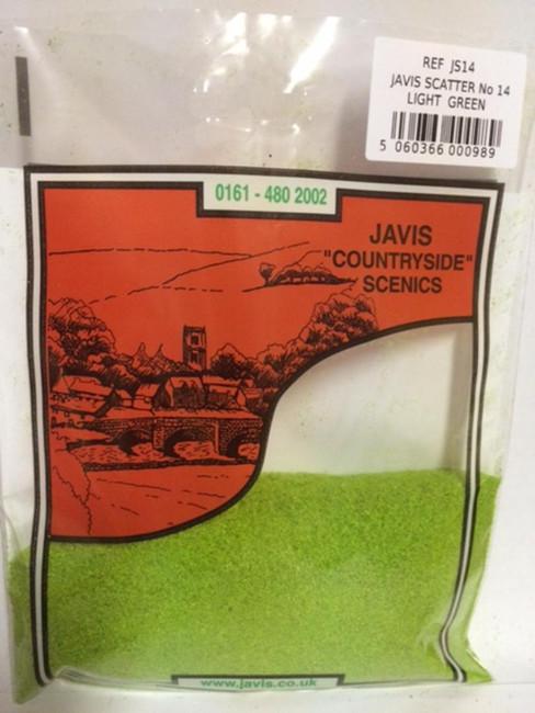 Javis: Scatter No.14 Light Green, Wargaming/Model Railway Terrain/Scenery
