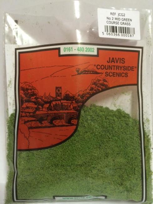 Javis: No.2 Mid Green Course Grass , Wargaming/Model Railway Terrain/Scenery
