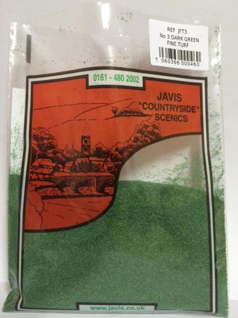 Javis: No. 3 Dark Green Turf , Wargaming/Model Railway Terrain/Scenery