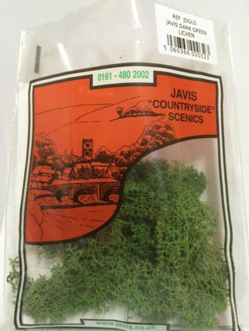 Javis: Dark Green Lichen, Wargaming/Model Railway Terrain/Scenery