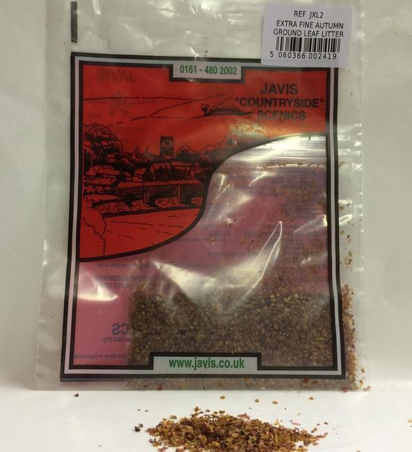 Javis: Extra Fine Autumn Ground Leaf Litter , Wargaming/ModelingTerrain/Scenery