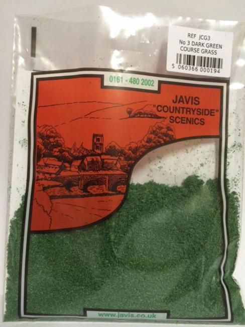 Javis: No.3 Dark Green Course Grass , Wargaming/Model Railway Terrain/Scenery