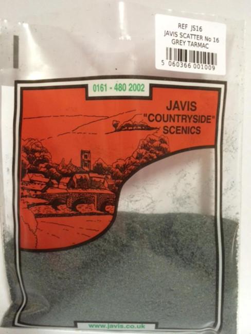 Javis: Scatter No.16 Grey Tarmac, Wargaming/Model Railway Terrain/Scenery