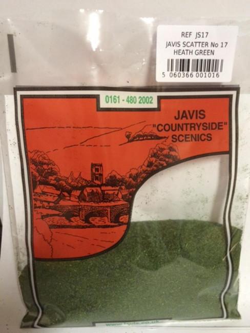 Javis: Scatter No.17 Heath Green , Wargaming/Model Railway Terrain/Scenery