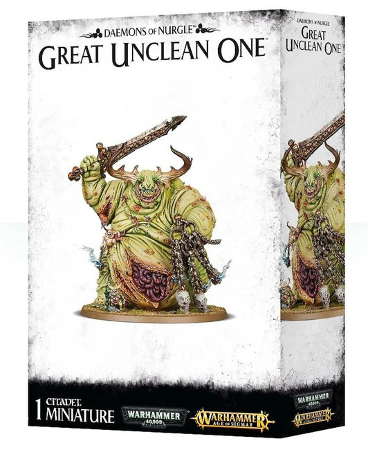 Daemons Of Nurgle Great Unclean One, Warhammer Age of Sigmar