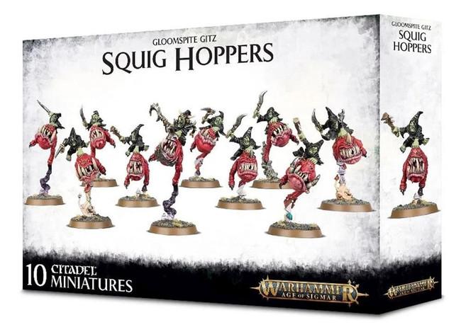 Gloomspite Gitz Squig Hoppers, Warhammer Age of Sigmar