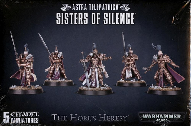 Astra Telepathica Sisters Of Silence, Warhammer 40,000, 40k, Games Workshop
