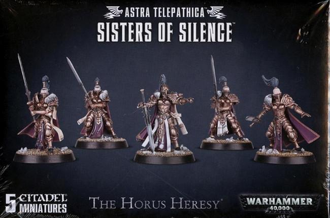 Astra Telepathica Sisters Of Silence, Warhammer 40,000, 40k, Games Workshop