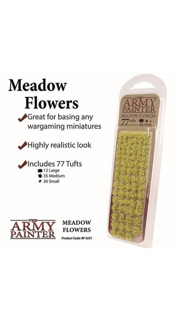 The Army Painter - Meadow Flowers, Wargaming/Model Railway Terrain/Scenery
