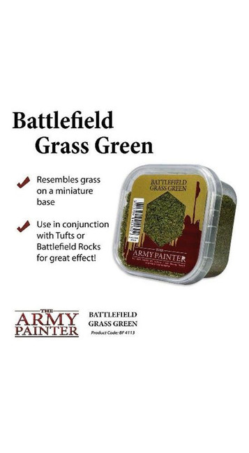 The Army Painter - Battlefields - Grass Green , Wargaming/Terrain/Scenery