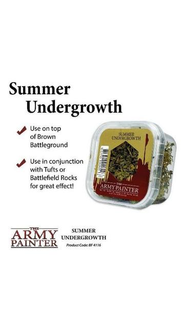 The Army Painter - Battlefields - Summer Undergrowth, Wargaming/Terrain/Scenery