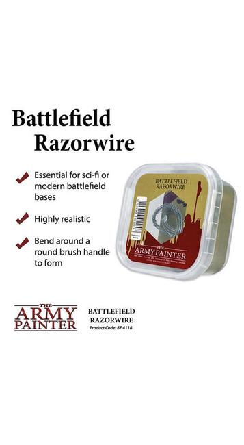 The Army Painter - Battlefields - Miniature Razor Wire,Wargaming/Terrain/Scenery