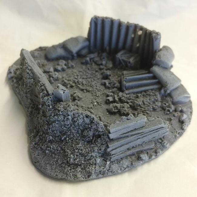 Javis: Battlezone - Fox Hole Type 3 , Wargaming/Model Railway Terrain/Scenery