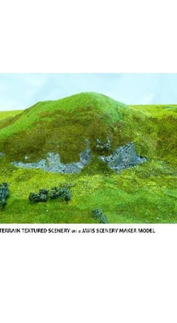 Javis: Autumn Green Rough Terrain Mat, Wargaming/Model Railway Terrain/Scenery