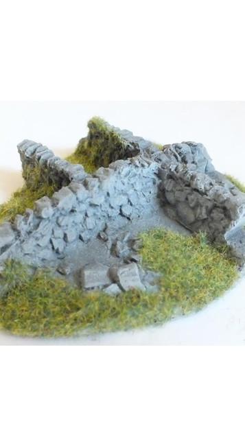 Javis: Corner Pieces - No. 3 Resin, Wargaming/Model Railway Terrain/Scenery
