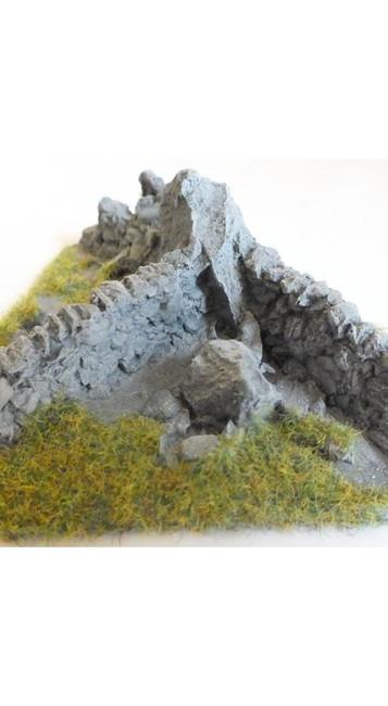 Javis: Corner Pieces - No. 1 Resin, Wargaming/Model Railway Terrain/Scenery