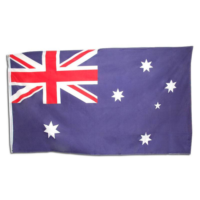 Australian Flag. 5' x 3' Cloth.