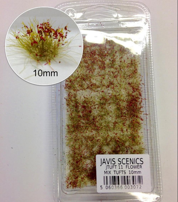 Javis: Tuft Sets 10mm - Flower Mix