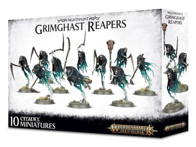 Nighthaunt Grimghast Reapers, Warhammer Age of Sigmar