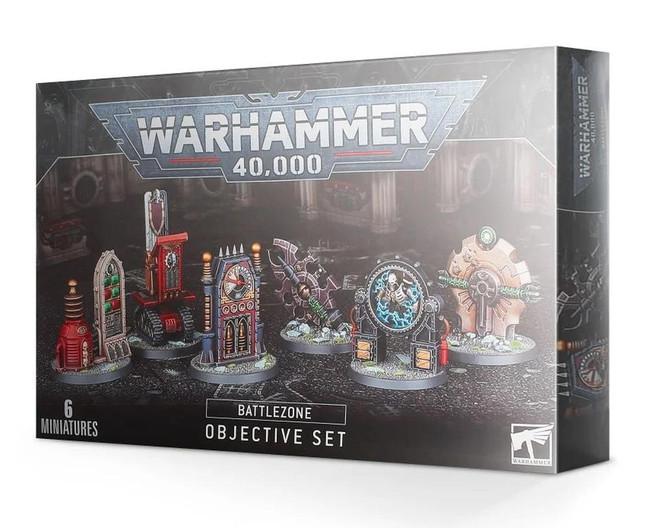 Warhammer 40,000: Battlezone: Manufactorum Objective Set, Warhammer 40,000