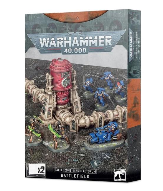 Warhammer 40,000: Battlezone Manufactorum Battlefield, Warhammer 40,000