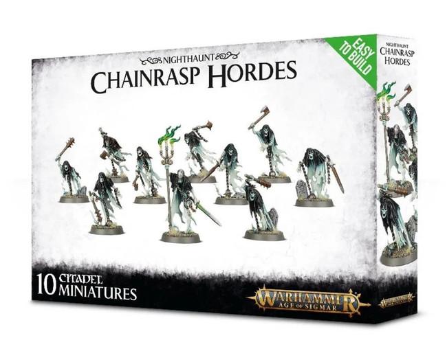Nighthaunt: (Easy To Build) Chainrasp Hordes, Warhammer Age of Sigmar