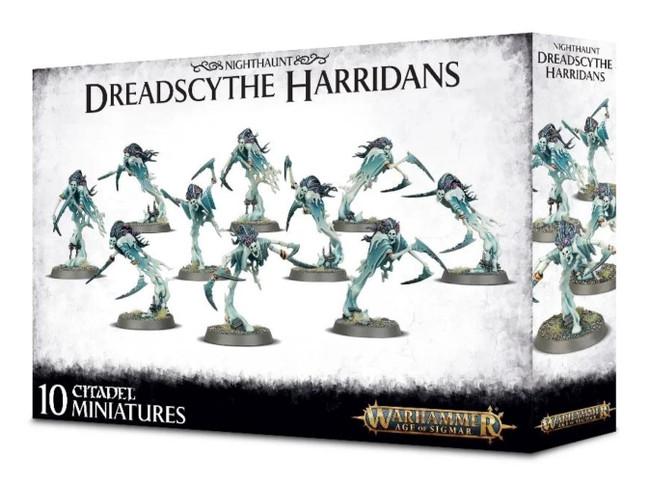 Nighthaunt: Dreadscythe Harridans, Warhammer Age of Sigmar
