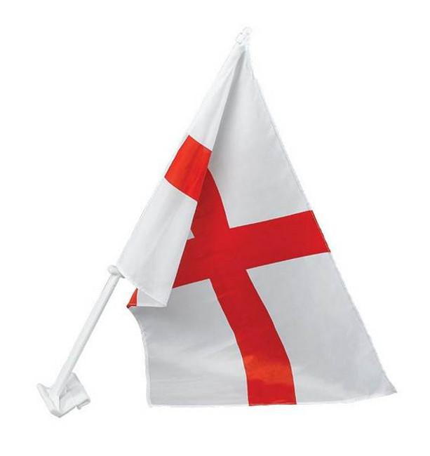 England St George Car Flag 30X45cm.