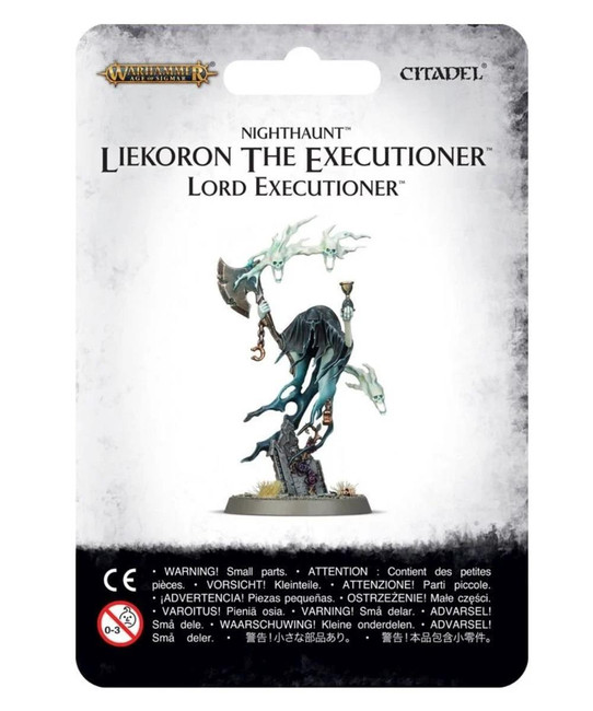 Nighthaunt: Liekoron The Executioner, Warhammer Age of Sigmar