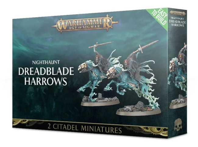 (Easy To Build) Nighthaunt: Dreadblade Harrows, Warhammer Age of Sigmar