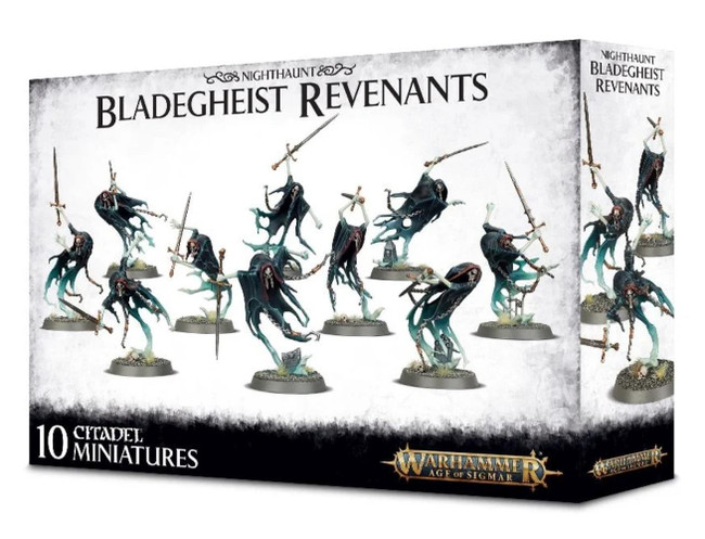Nighthaunt: Bladegheist Revenants, Warhammer Age of Sigmar