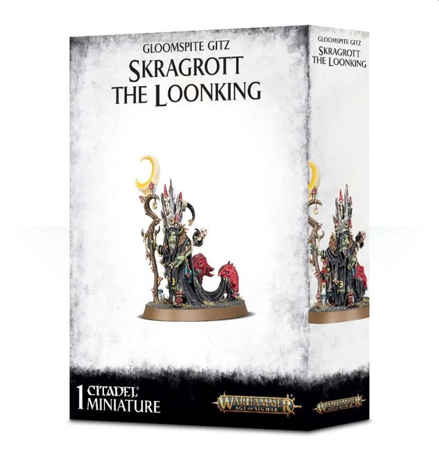 Gloomspite Gitz: Skragrott The Loonking, Warhammer Age of Sigmar