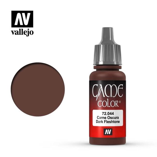 AV Vallejo Game Color 17ml - Dark Fleshtone