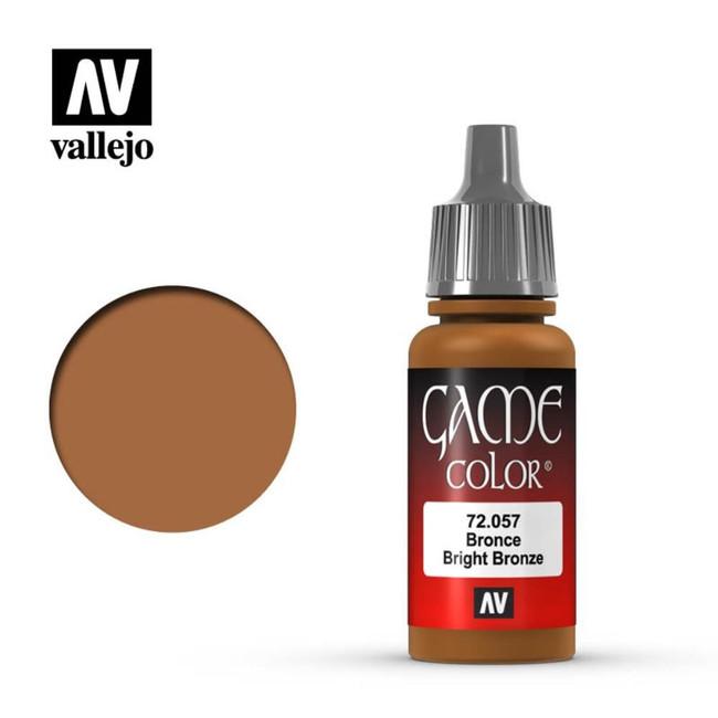 AV Vallejo Game Color 17ml - Bright Bronze