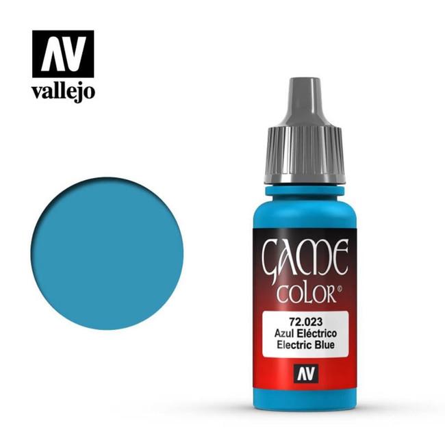 AV Vallejo Game Color 17ml - Electric Blue