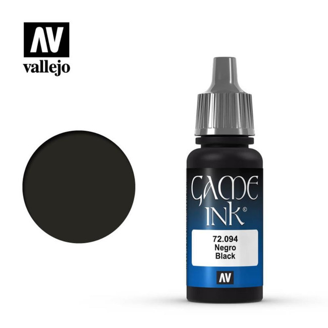 AV Vallejo Game Color - Game Ink - Inky Black