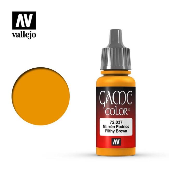 AV Vallejo Game Color 17ml - Filthy Brown