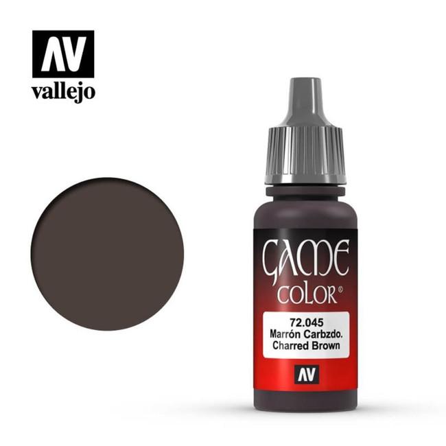 AV Vallejo Game Color 17ml - Charred Brown