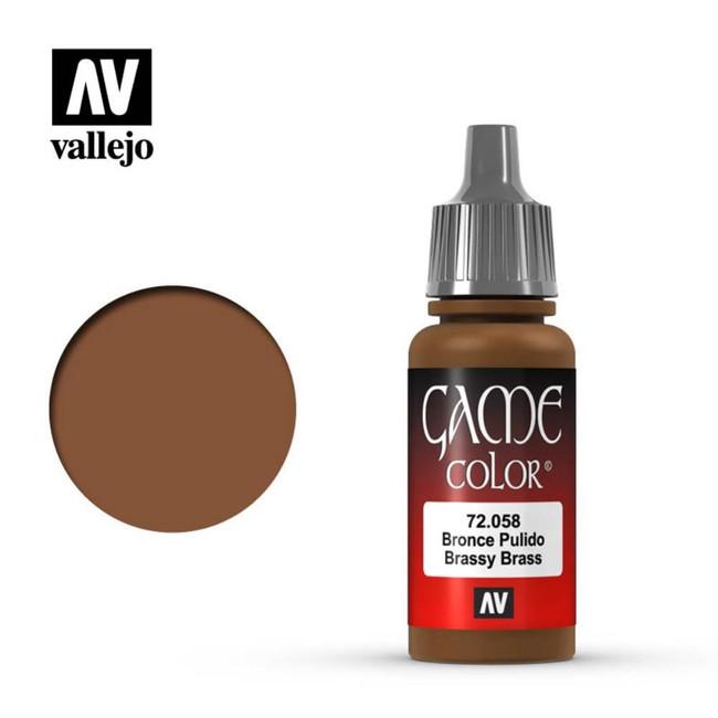 AV Vallejo Game Color 17ml - Brassy Brass